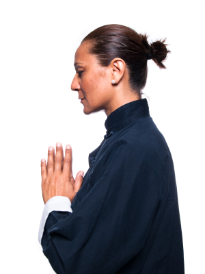 The History of Qigong demonstrated in a traditional qi gong pose