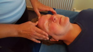 Head Procedure Usings Bowen Treatments